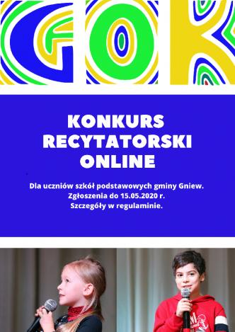 Konkurs Recytatorski Online
